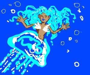 jellyfish woman