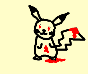 Zalgo Pikachu