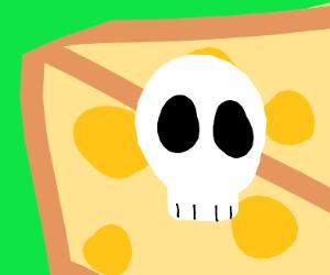 Skull on Cheese