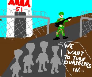 Best idea so far for breaking into Area 51