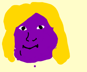 Thanos with a wig