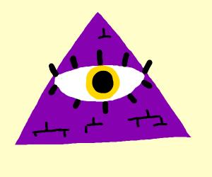 the illuminati but purple