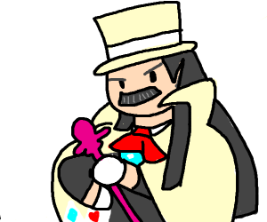 That magician guy from ace attorney