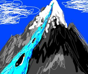 penguin waterslide