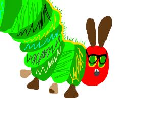 A dorky green catipillar wants some friends