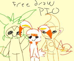 free draw bc this is my last game for a while