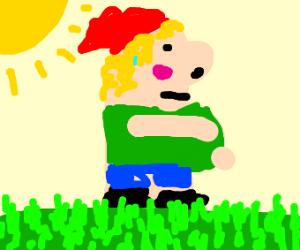 Pregnant Gnome
