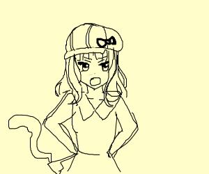 anime girl crime scene