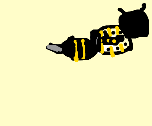 Bees in bees in bees