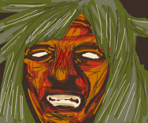Angry sorcerer lady
