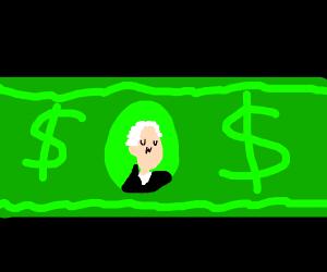 Green owo dollar