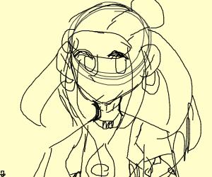 Nessa, the new pokemon gym leader