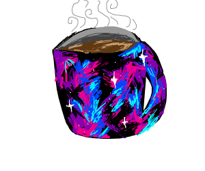 Coffee mug of the galaxy