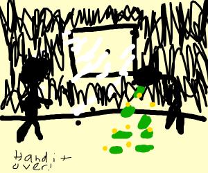 Step 7: Vomit said rewqrd moneh