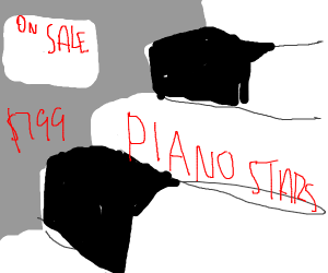 Piano stairs only $799 [ON SALE]