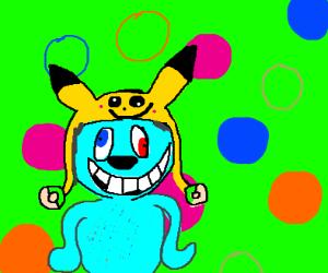 A weird fan pokimon
