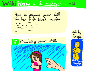a concerningly morbid wikihow page
