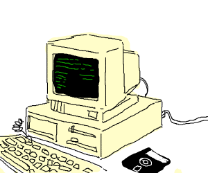 Old style computer
