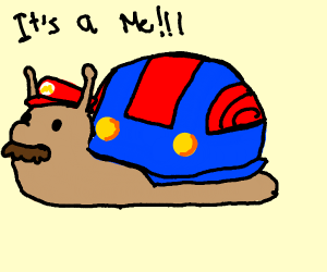 Mario snail