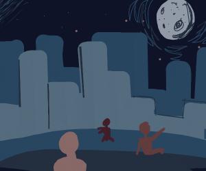 Night at City