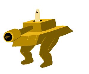 Brown Tank
