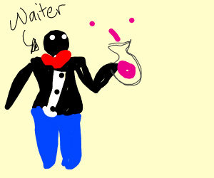 Waiter Experimenting
