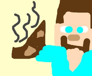 steamy meat