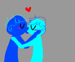 blue gay ppl