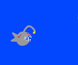 Deep-water lampfish