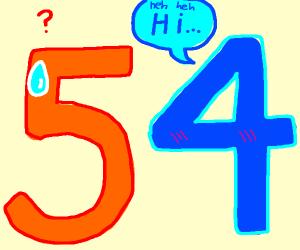 4 greets 5