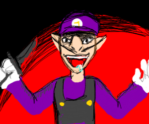 waluigi commits murder while on drugs