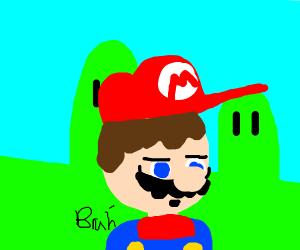 Mario says BruH