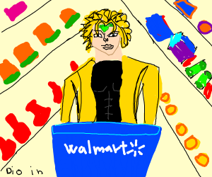 Dio in Walmart