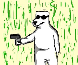 Polar Bear in the Matrix