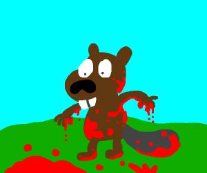 bloody beaver
