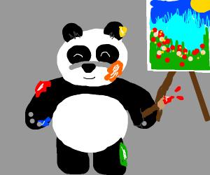 Artsy panda