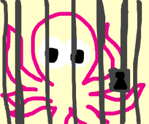 Octopus in jail cell