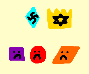 Diamond hates crowns, other shapes are sad
