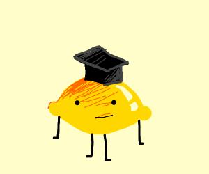 graduating lemon guy