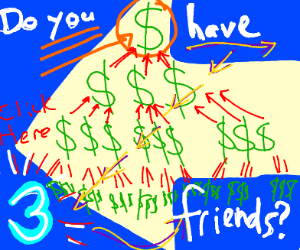 Get rich quick scam