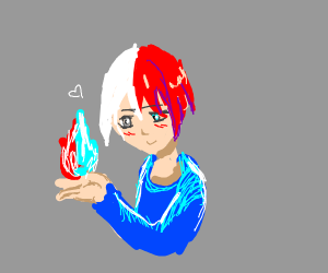 Why couldn't someone have fire AND ice powers
