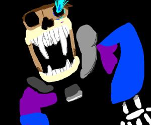 Sans is 2 spooky 5 me