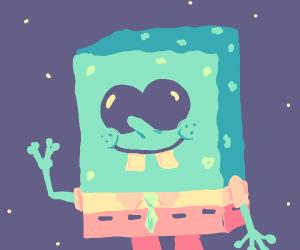alien spongebob