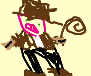 Pig Archaeologist