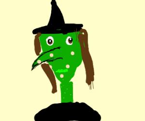 Witch has chicken pox