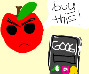 Apple begs people to buy Google phones