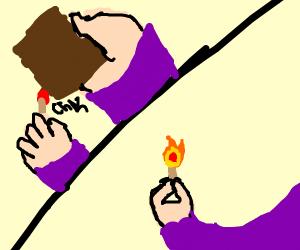 Create the flame