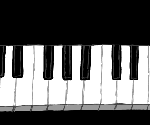 piano key (b/h i think)