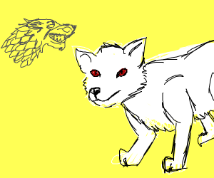 dire wolf (game of thrones)