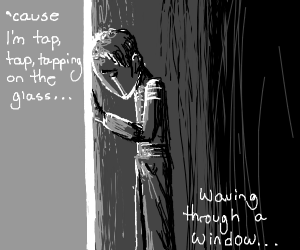 Waving through a window (Song)